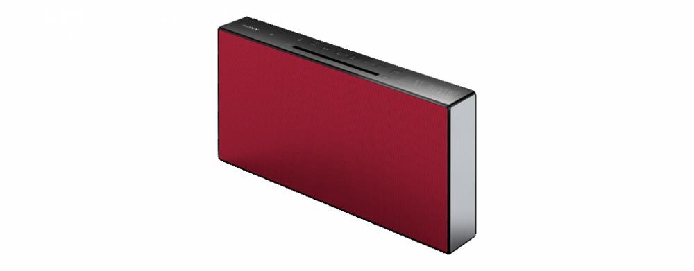 Sony CMT-X3CD CMT-X3 Röd