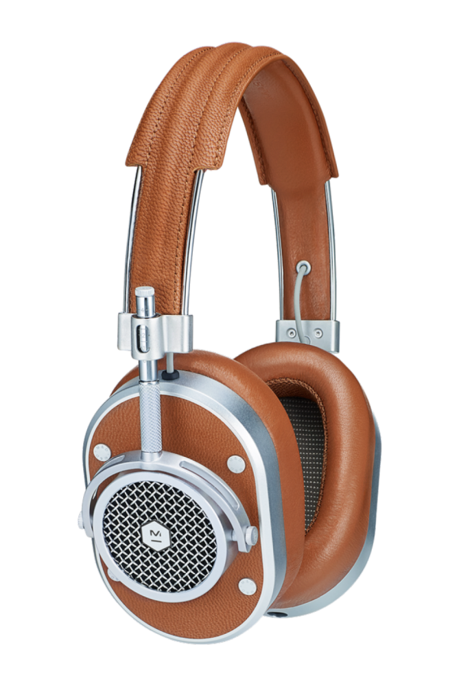 Master & Dynamic MH40 Brown Leather / Silver