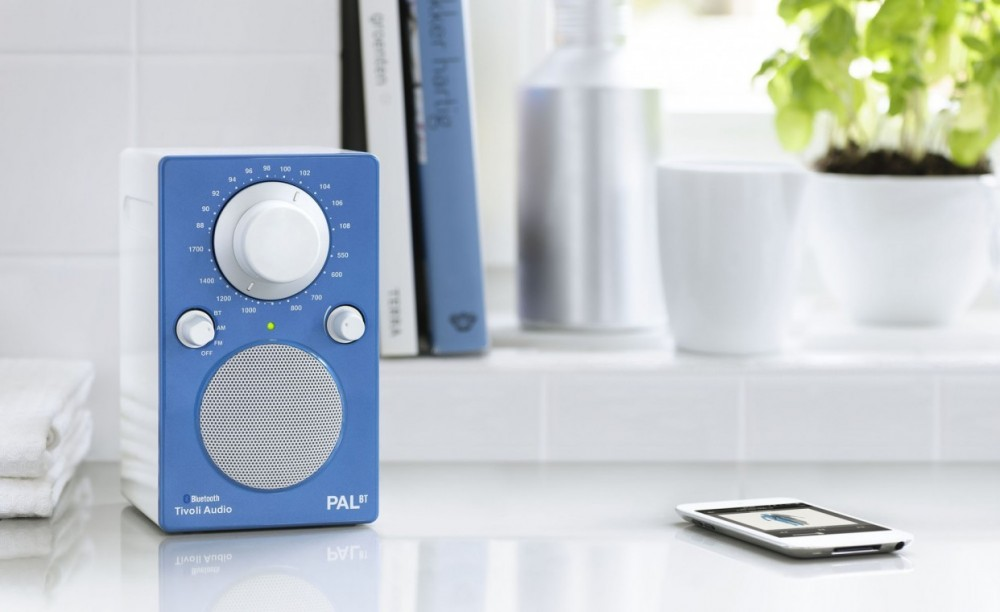 Tivoli Audio Pal BT Blue/White