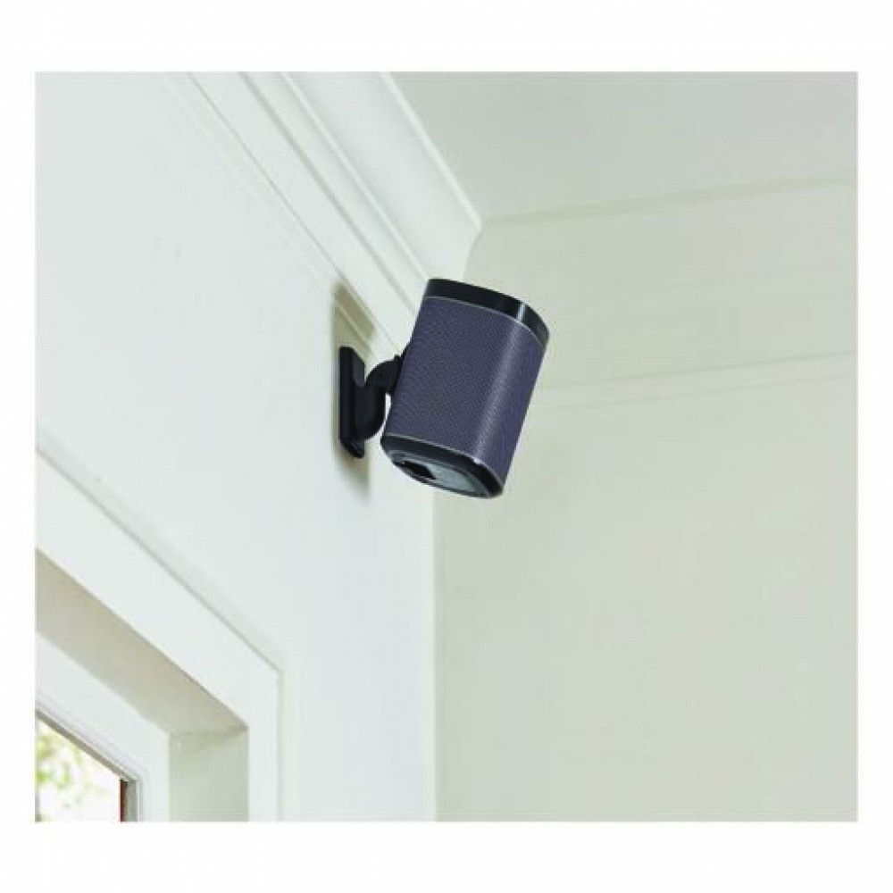 Sanus Wall Mount Sonos One, P:1 & P:3 Svart