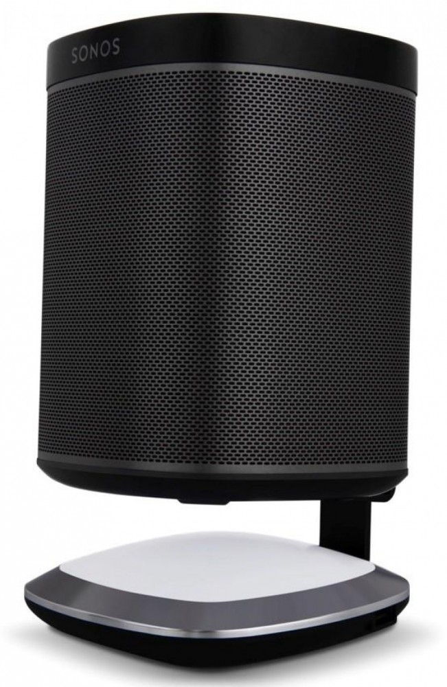 Flexson Illuminating Charging stand for Sonos Play:1 Black