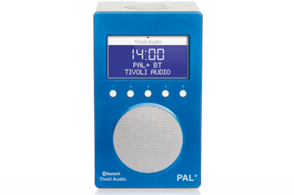 Tivoli Audio Pal + BT Blå/Vit