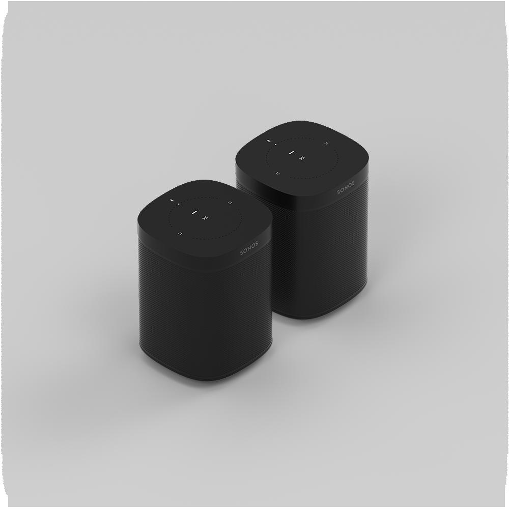 Sonos One promo duo Black
