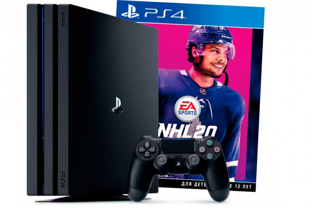 Sony Playstation 4 Pro 1TB + NHL 20