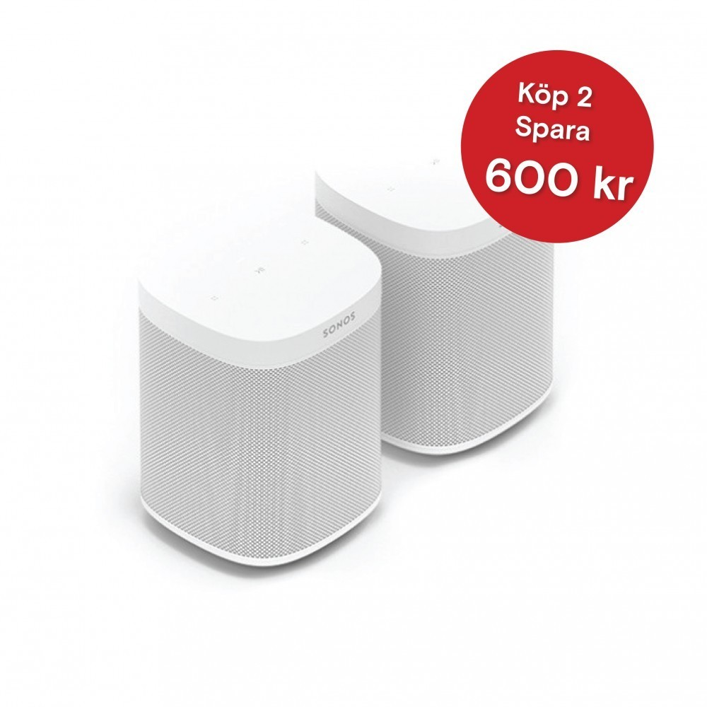 Sonos One SL duo