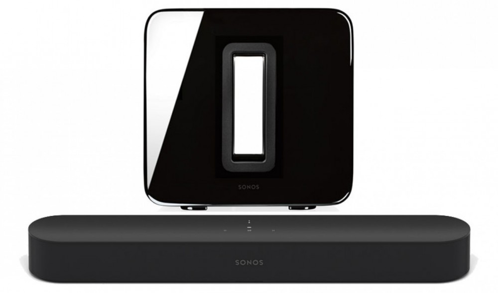 Sonos Beam + Sub Svart