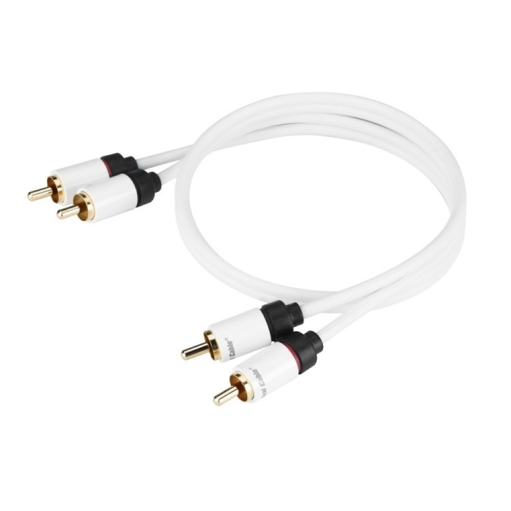 Real Cable Moniteur 2RCA-1 1M