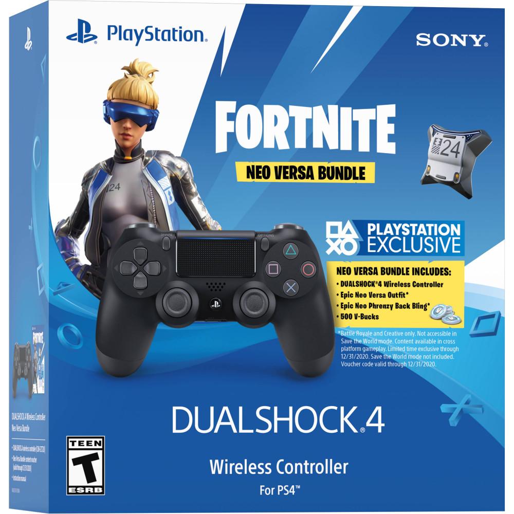 Sony Dual shock 4 Fortnite Neo Versa bundle
