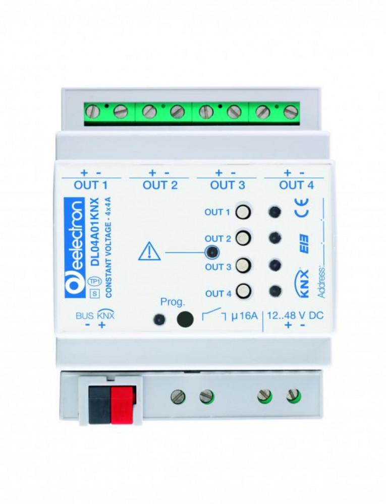 eelectron KNX Dimmeraktor 4-kan LED 12-48V DC